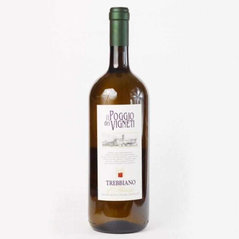 Вино бiле il Poggio dei Vigneti Trebbiano dAbruzzo 11,5% 1,5л