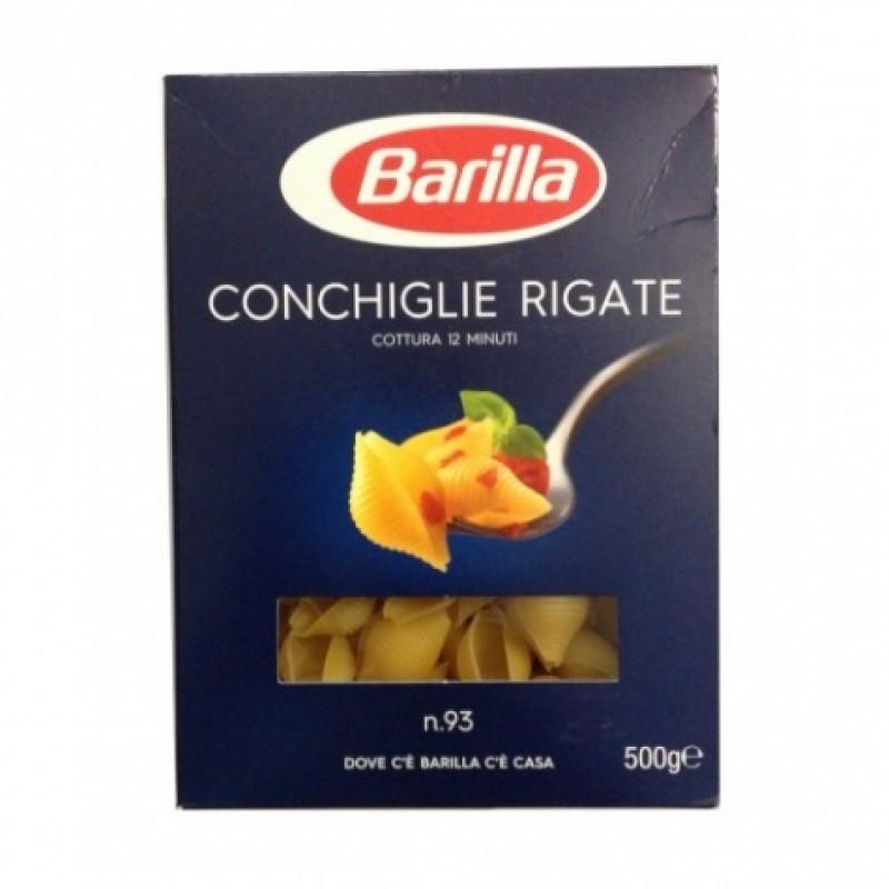 Макарони Barilla n93 Conchiglie Rigate 500г