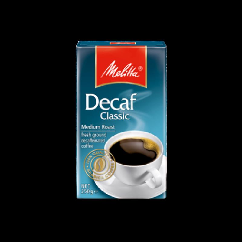 Кава мелена Melitta Decaf classic 250г