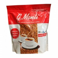 Кава розчинна G.Monti Caffetteria Red сублімована 200г