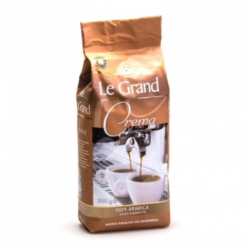 Кава зернова Le Grand Crema 500г