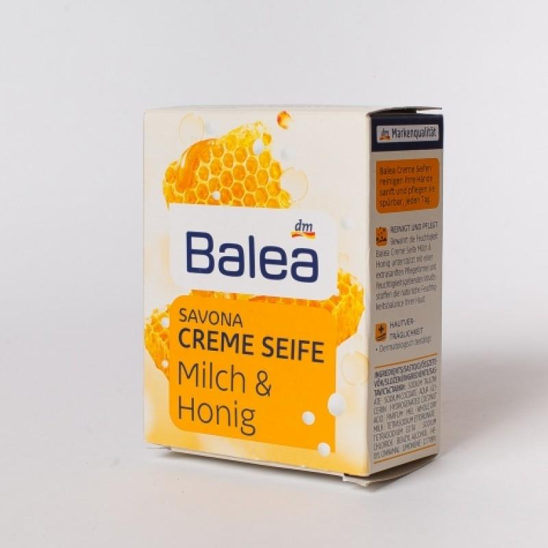 Крем мило Balea мед i молоко 150г