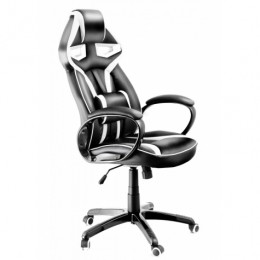 Крісло геймера Diablo X-Gamer чорно-біле крісло геймера!