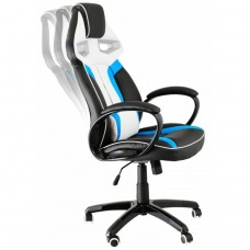 Diablo X-Gamer чорно-біло-синє крісло геймера!