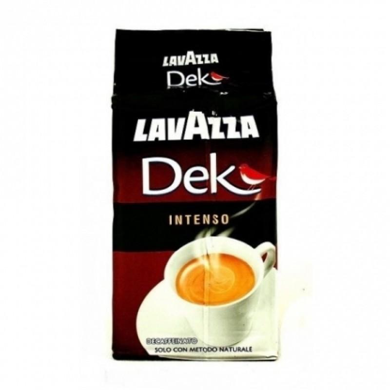 Lavazza DEK DecaffeeInato Intenso 250г мелена без кофеїну