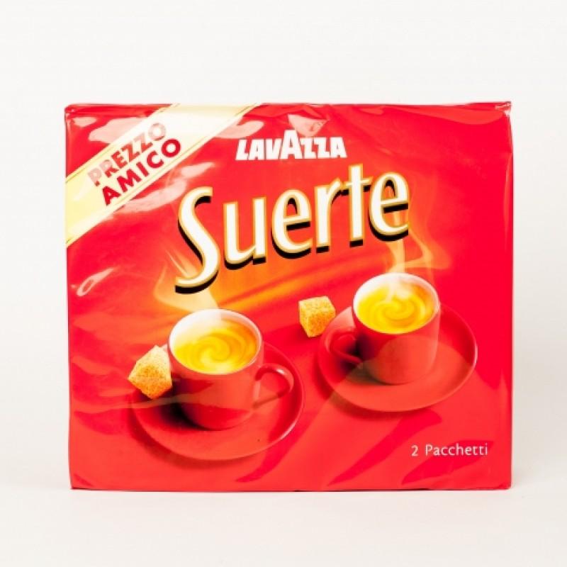 Кава мелена Lavazza Suerte 2 по 250г