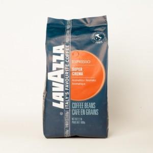Кава в зернах Lavazza Super Crema 1кг