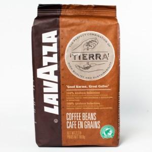 Кава в зернах Lavazza Tierra Сafе en grains 1кг