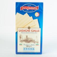 Лазань Del Castello Lasagne Gialle 500г
