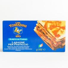 Лазань Tomadini 500г