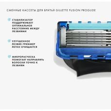 Леза Gillette Fusion PROGLIDE 4 шт