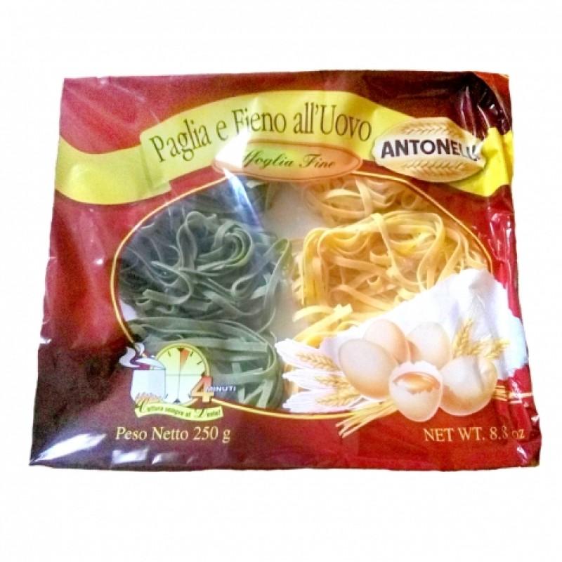 Макарони Аntonelli Paglia e fieno гнізда із шпинатом 250г
