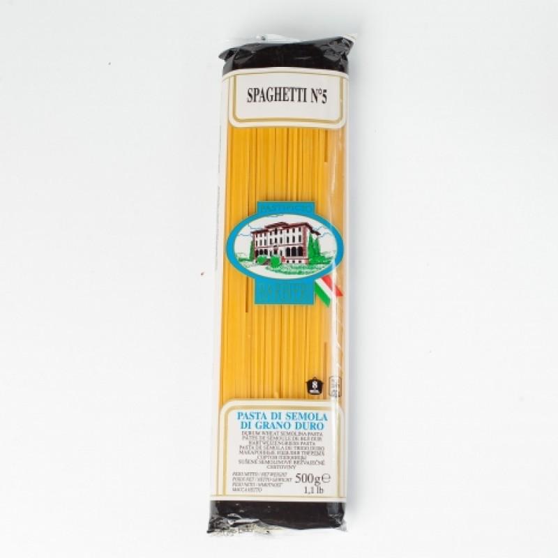 Макарони Barbieri n5 спагетті 500г