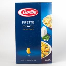 Макарони Barilla 86 Pipette Rigate 500г