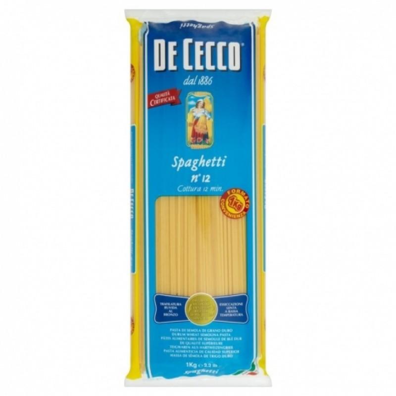 Макарони De cecco n12 spaghettoni 1кг