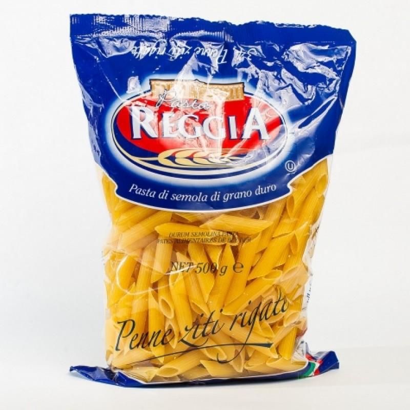 Макарони Pasta n34 Reggia Penne ziti rigate 500г