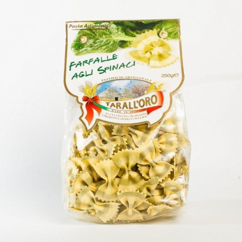 Макарони Tarall'oro Farfalle Agli Spinaci 250г