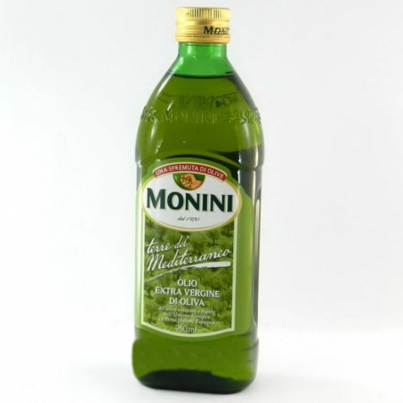 Олiя оливкова Monini Terre del Mediterraneo extra virgin 750мл