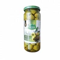 Оливки Iberia зеленi без кiсточки 340г