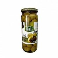 Оливки Iberia зелені фаршировані перцем 340г