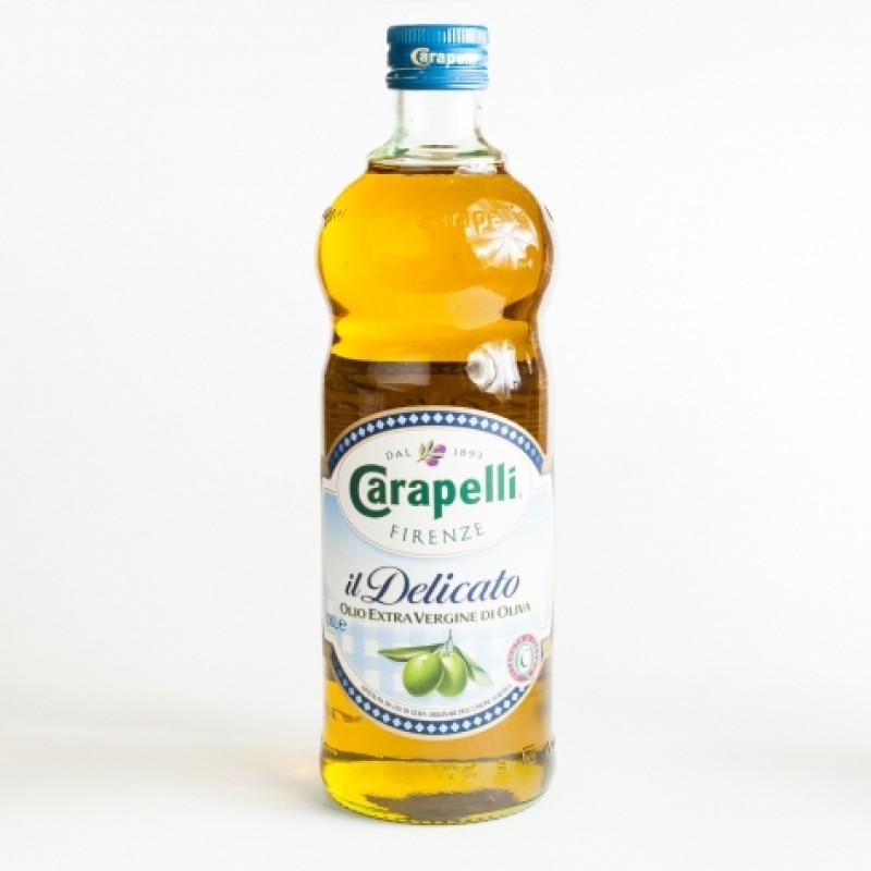Олія оливкова Carapelli il delicato extra vergine 1л