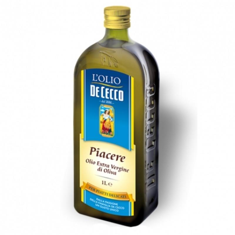 Олiя оливкова De Cecco Olio il placere extra vergine 1л