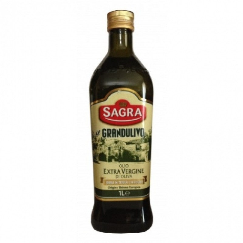 Олiя оливкова Sagra grandulivo olio extra vergine 1л