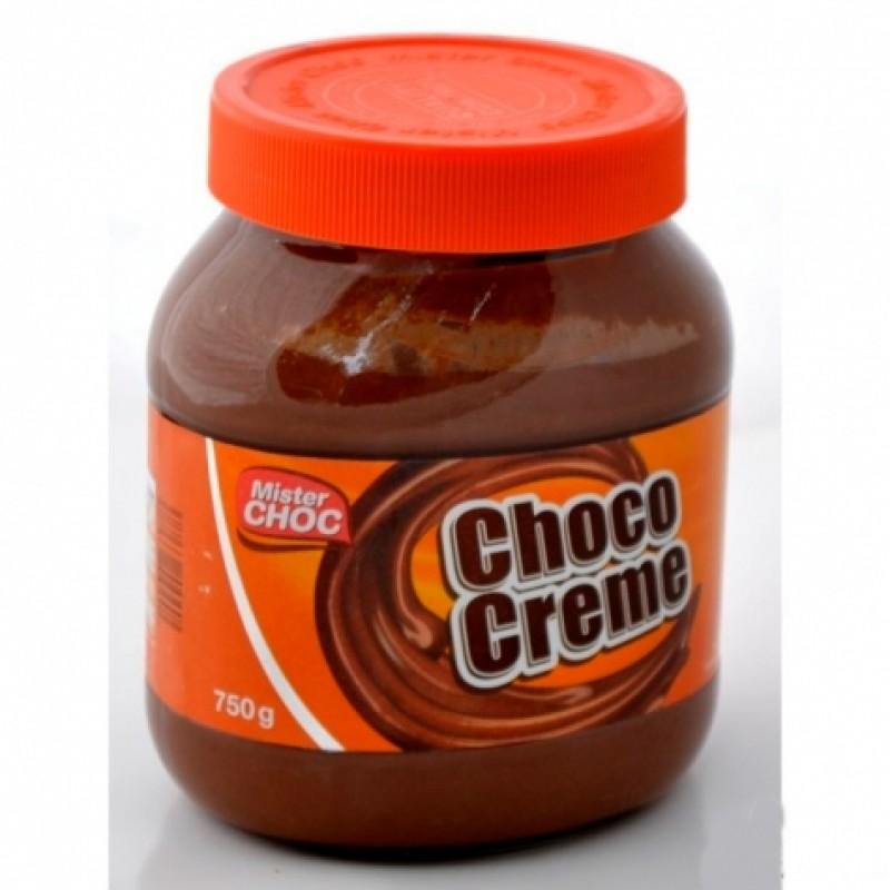 Паста шоколадна Mister Choc Schko-Creme 750г