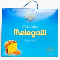 Панеттоне Melegatti з цукатами та мигдалевою посипкою 1кг