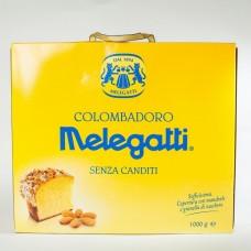 Панеттоне Melegatti з мигдалевою посипкою 1кг