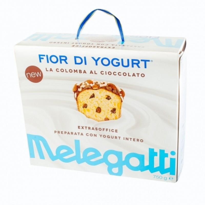 Панеттоне Melegatti з шоколадною начинкою та мигдалем 750г