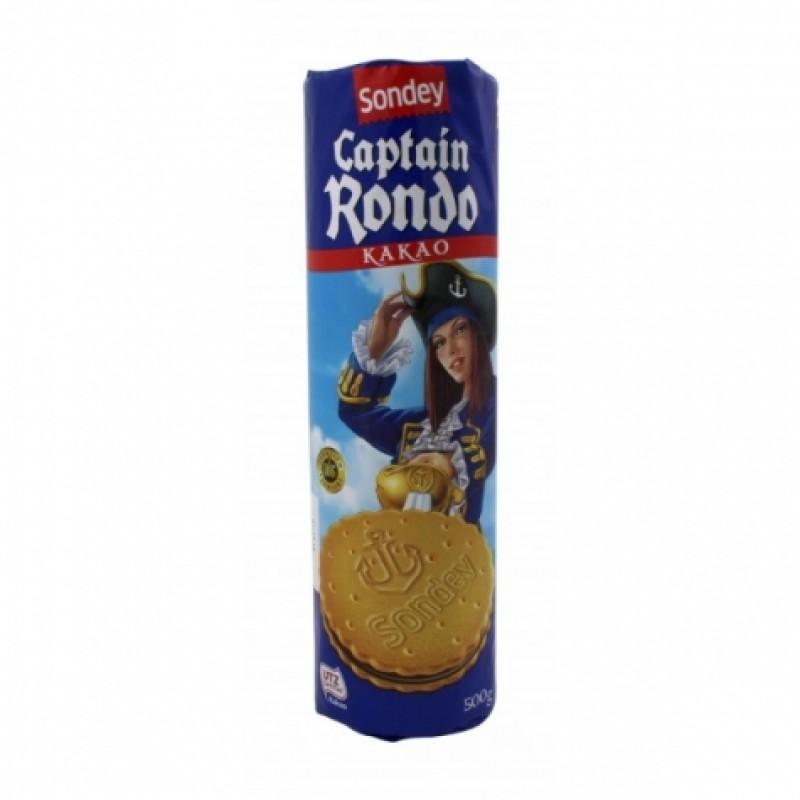 Печення Sondey Captain Rondo kakao 500г