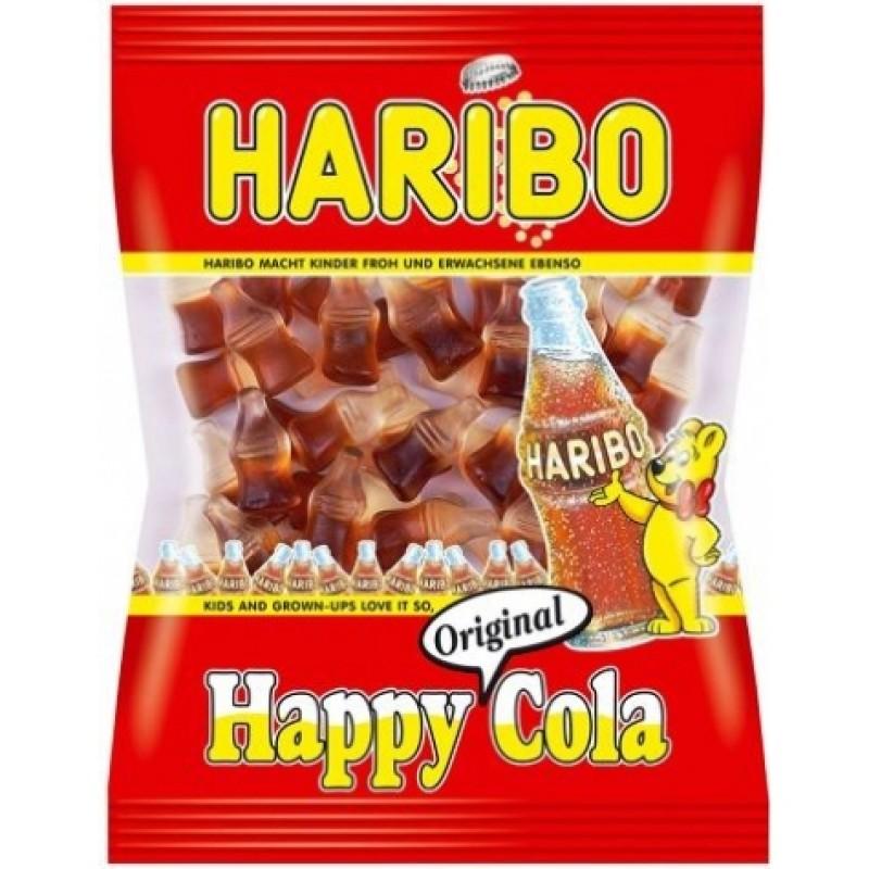 Желейки Haribo happy cola 200г