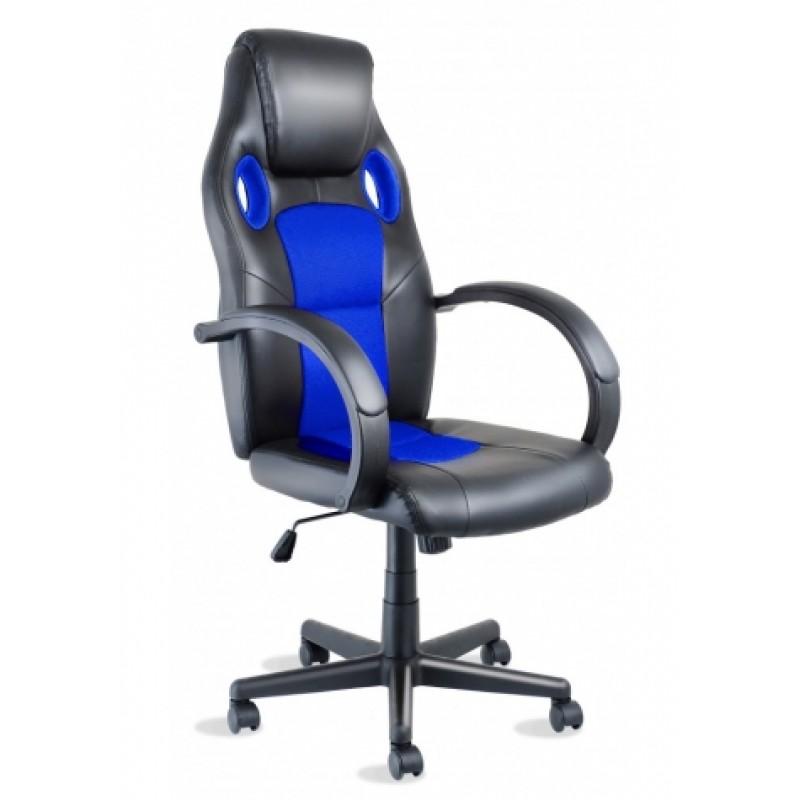 Racer синє геймерське крісло