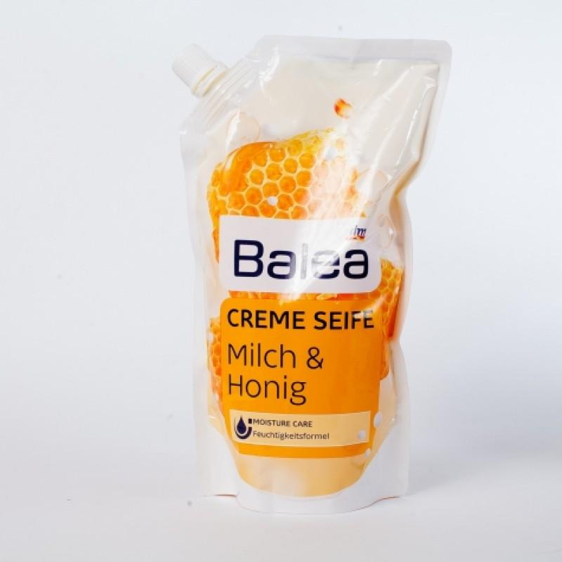 Рiдке мило Balea запаска мед i молоко 500мл