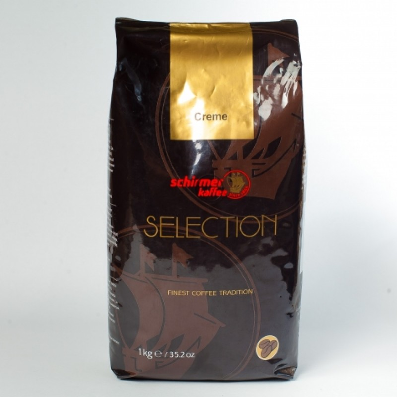 Кава в зернах Schirmer kaffe Selection crema 1кг