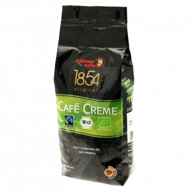 Schirmer Kaffee Bio Cafe Creme 1кг в зернах