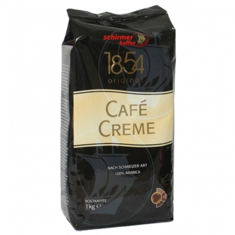 Schirmer Kaffee Cafe Crema 1кг в зернах