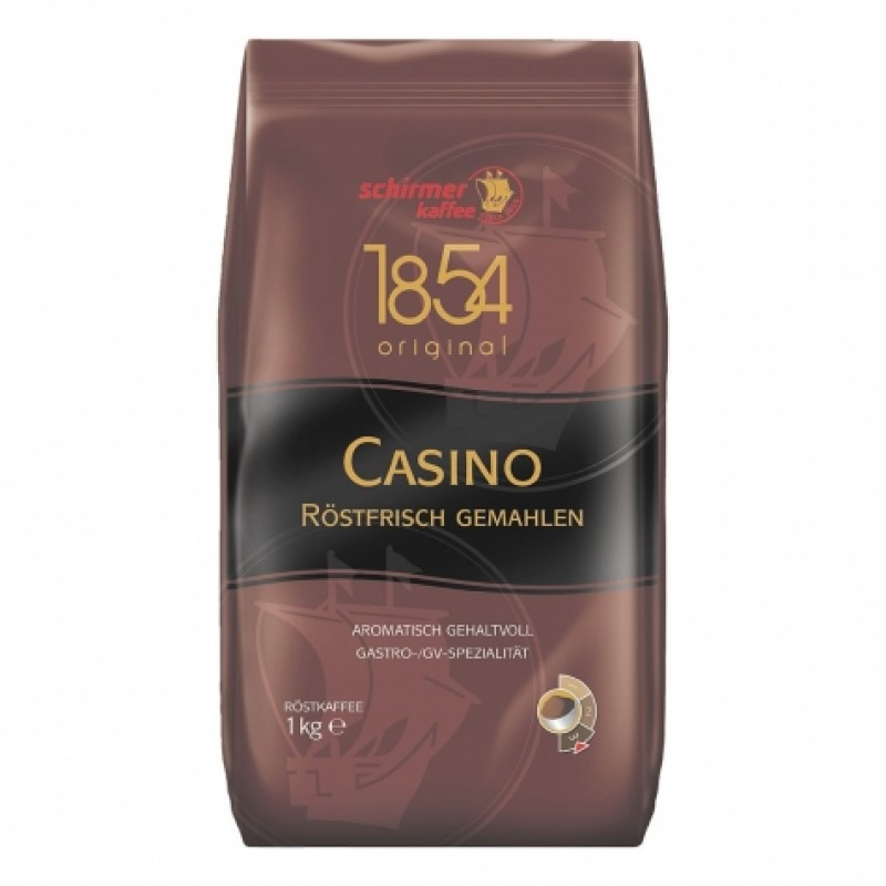 Schirmer Kaffee Selection Casino 1кг мелена
