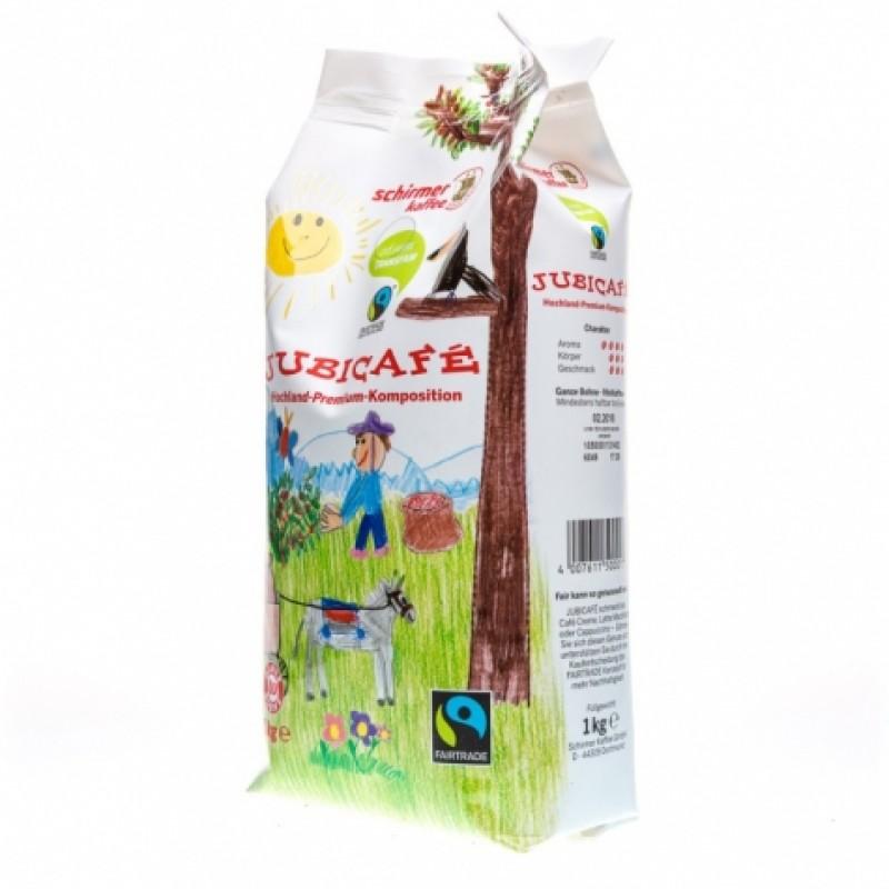 Schirmer Kaffee Fairtrade Jubicafe 1кг в зернах