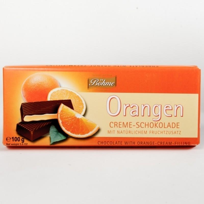 Шоколад Bohme з апельсином 100г