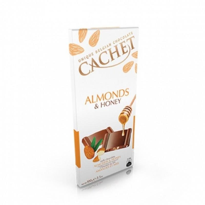 Шоколад Cachet honey мед 100г