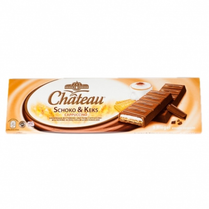 Шоколад Chateau Schoko & Keks капучино 300г