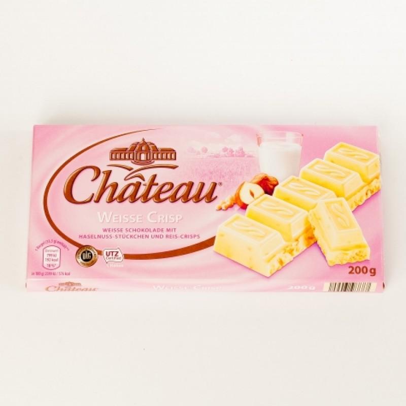 Шоколад Chateau Weisse Crisp 200г