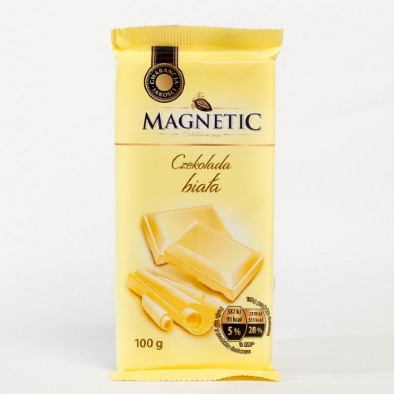 Шоколад Magnetic бiлий 100г
