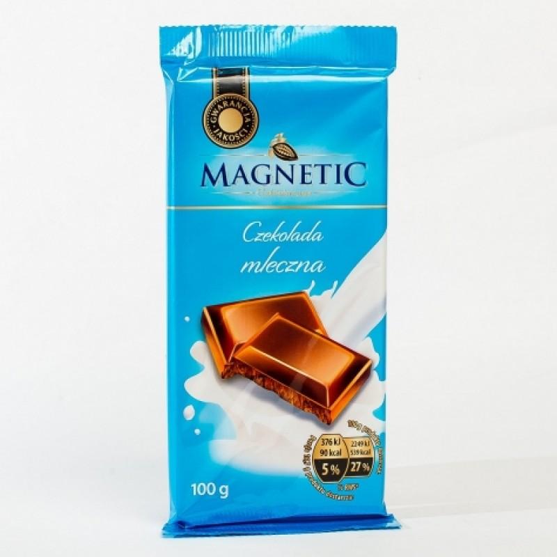 Шоколад Magnetic молочний 100г