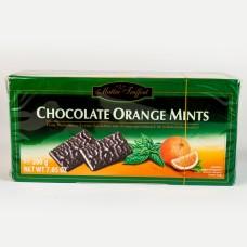 Шоколад Mautre Fruffout з мятно-апельсиновим кремом 200г