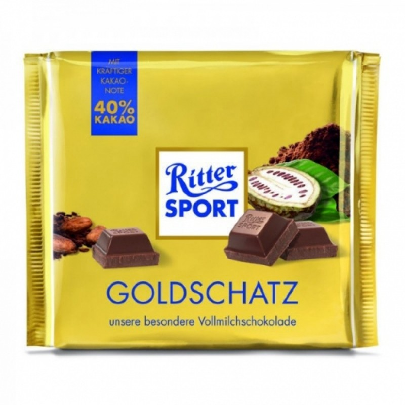 Шоколад Ritter Sport Goldschatz 250г