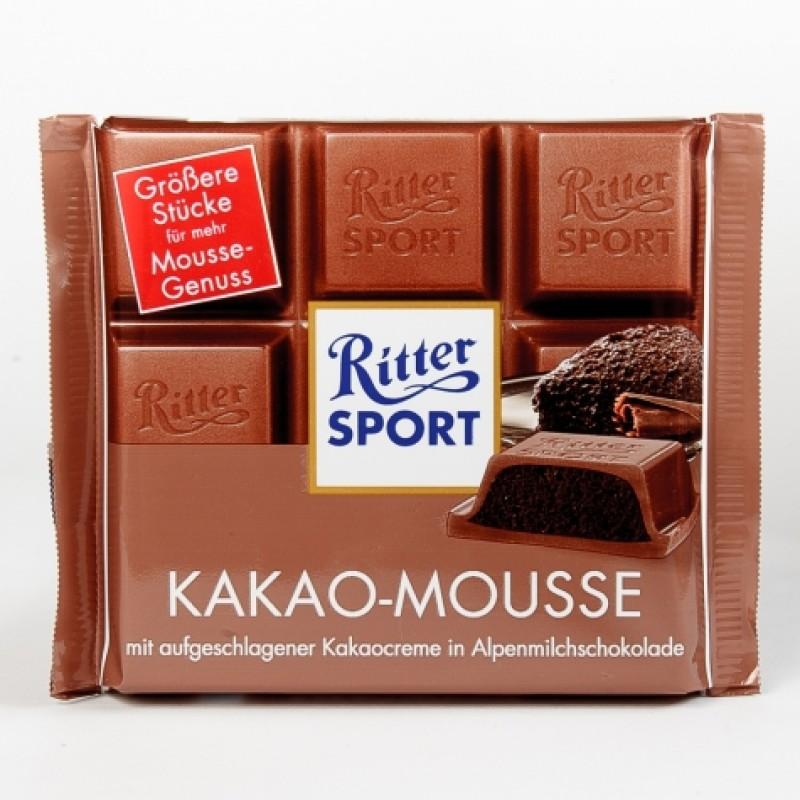 Шоколад Ritter Sport какао-мус 100г