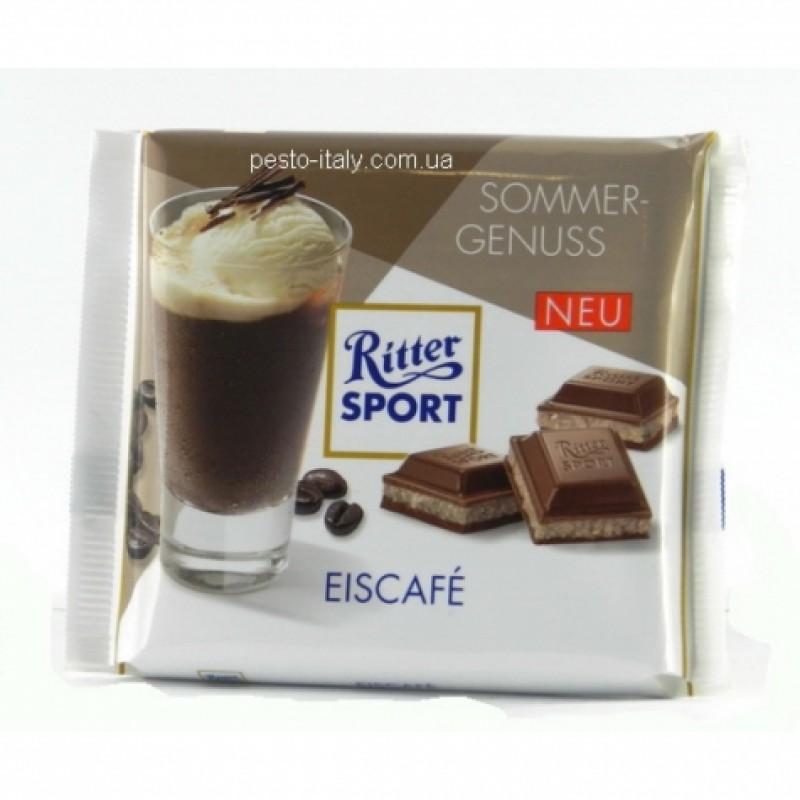 Шоколад Ritter Sport молочний кава Глясе 100г